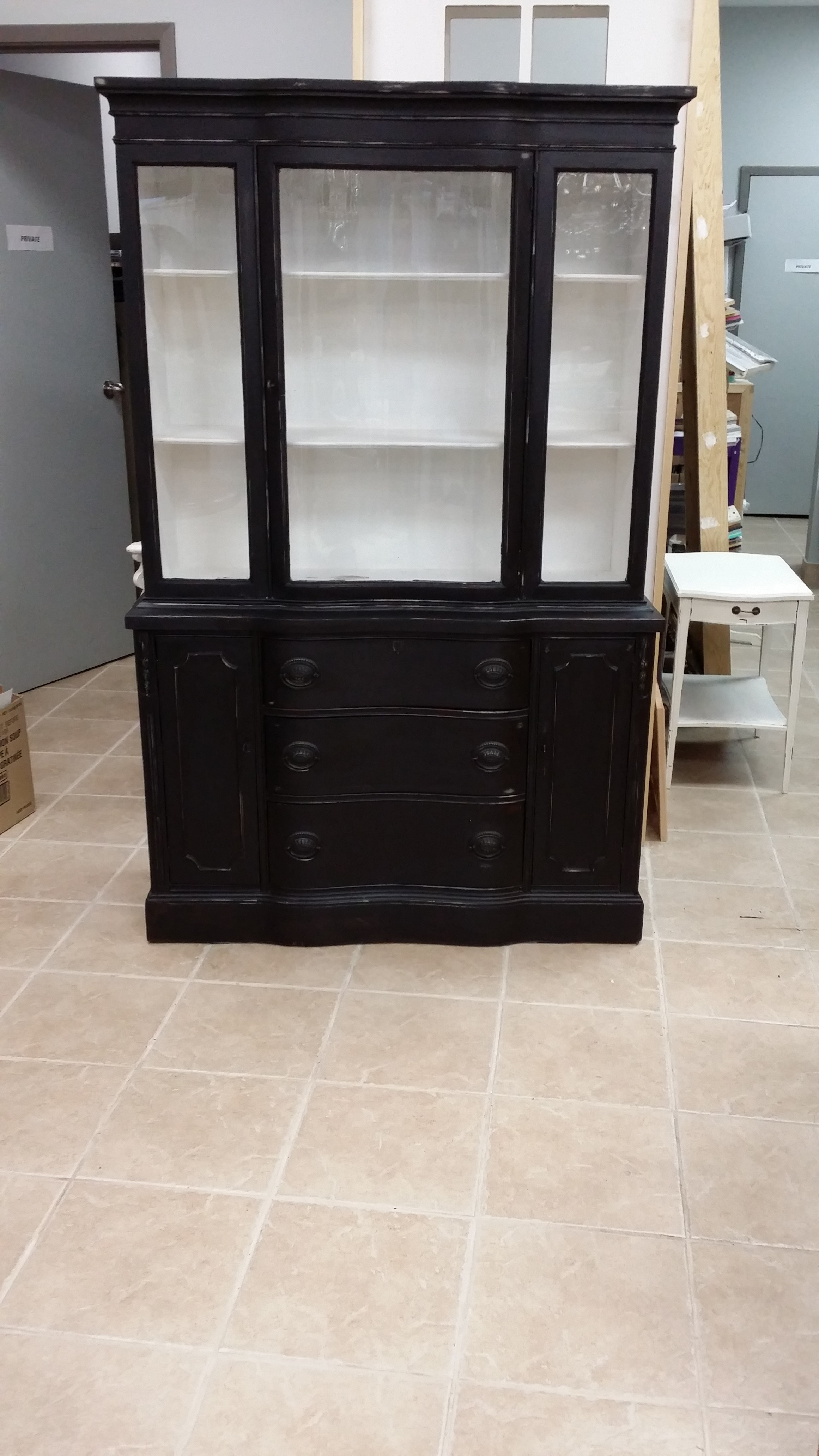 Revenge And Chalk China Cabinet After